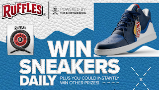Ruffles Sneaker Stash Instant Win Giveaway 1,030 Winners  Win