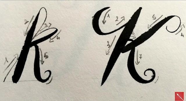 Corso Calligrafia Moderna Brush lettering created Arte per Te