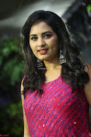 Srushti in beautiful Pink Sleeveless Dress Cute Actress Dimples ~  Exclusive 003.JPG