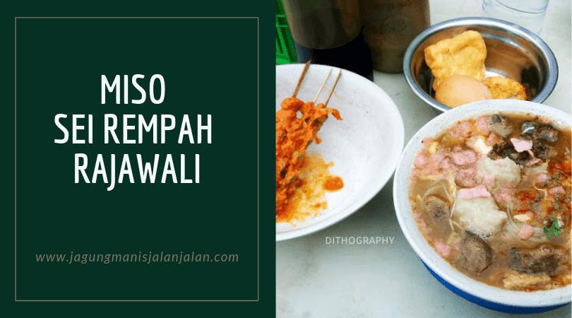 Miso Sei Rempah Rajawali, Kuliner Kota Pekanbaru