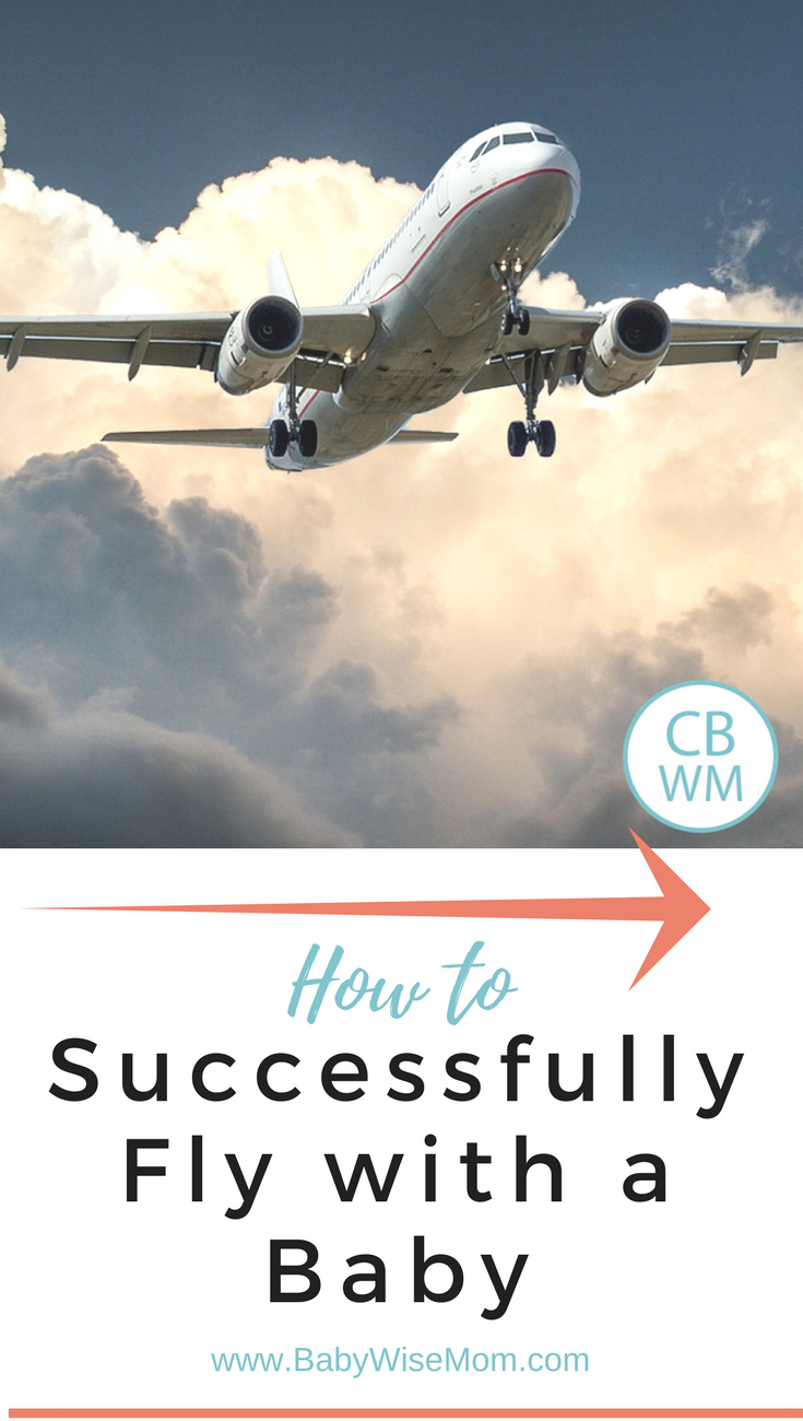 How to Successfully Fly with a Baby | traveling tips | baby travel tips | #traveling
