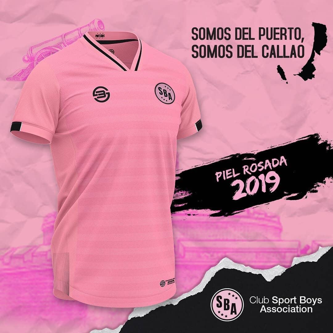 7b0be528f4 Sfera 3 lança a camisa titular do Sport Boys. A fabricante de material  esportivo ...