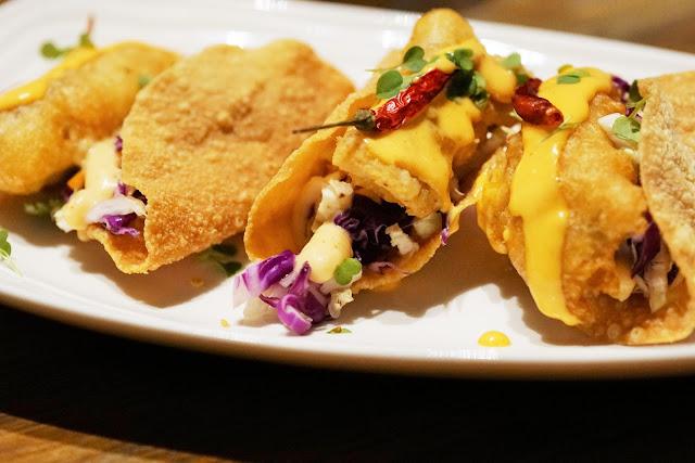 secret fish taco salad