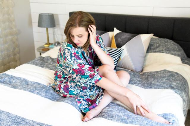 Erin Condren's Floral Ink Kimono Review