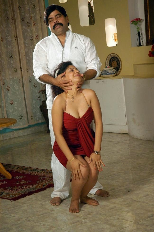 Sexy Meenakshi Kailash Tamil Actress Boobs Press While -6883