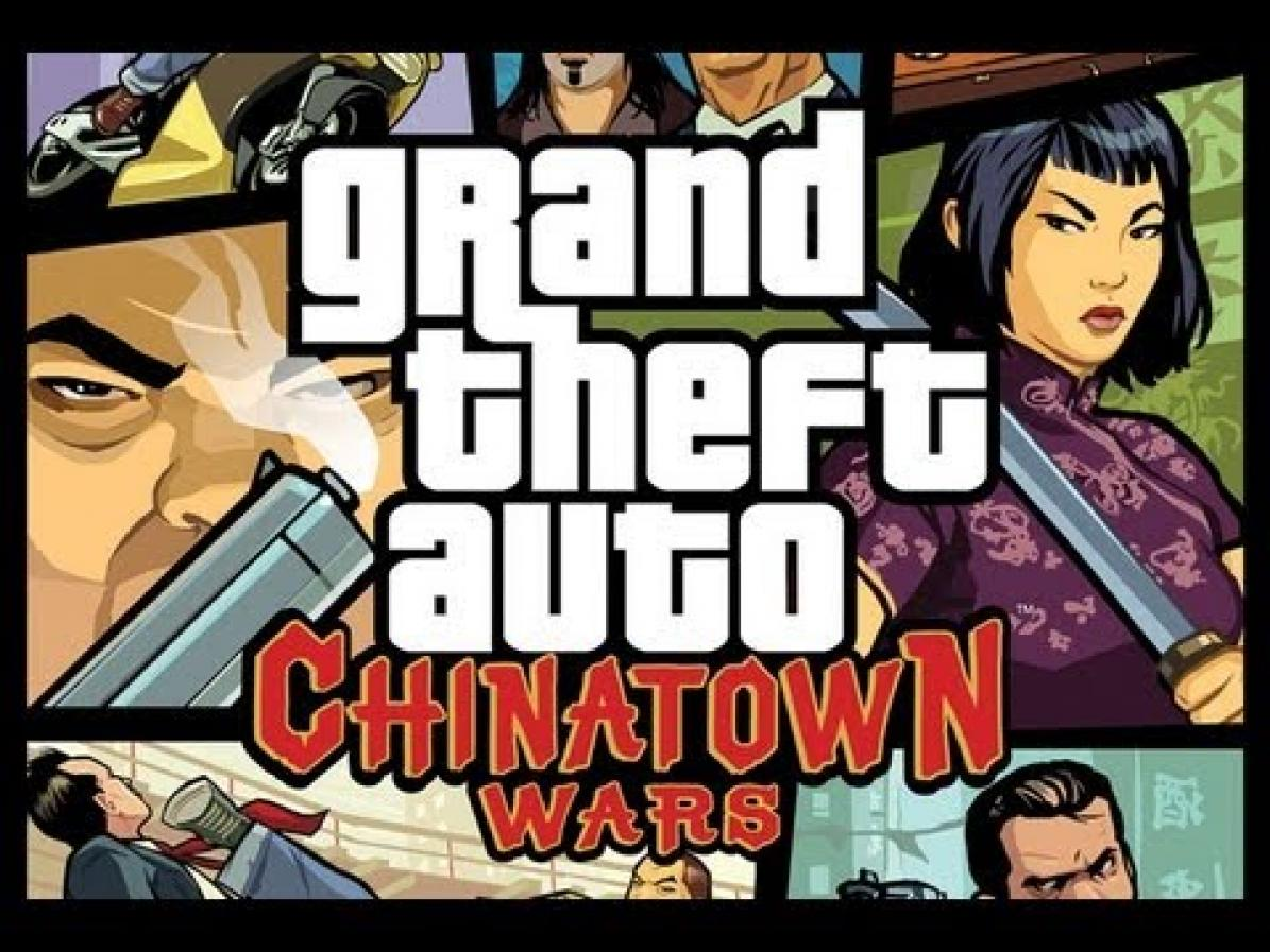 mobile game reviews and cheats online: GTA Chinatown Wars