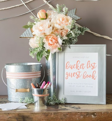 DIY Bucket List Guest-Book