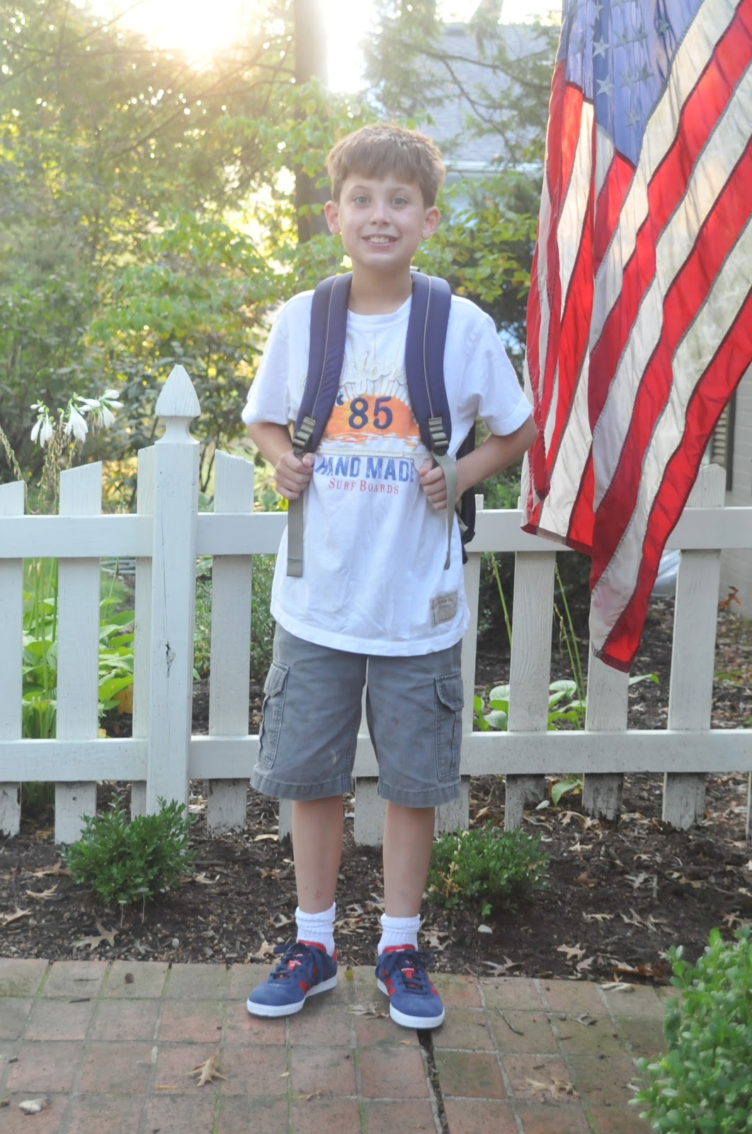 Nine Sixteen First Day Of 4th Grade