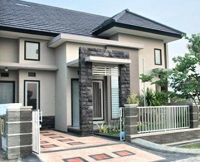 Gambar tiang teras rumah terbaru