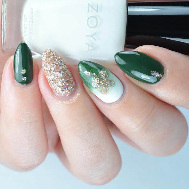 shamrock nail art