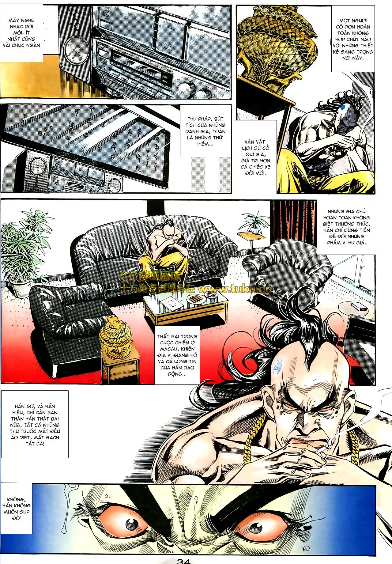 Người Trong Giang Hồ chapter 178: bối cảnh quạ đen trang 21