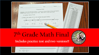 Includes two versions of the final, a practice test, and student answer sheets.