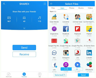 SHAREit Apk No root Terbaru 3.6.98