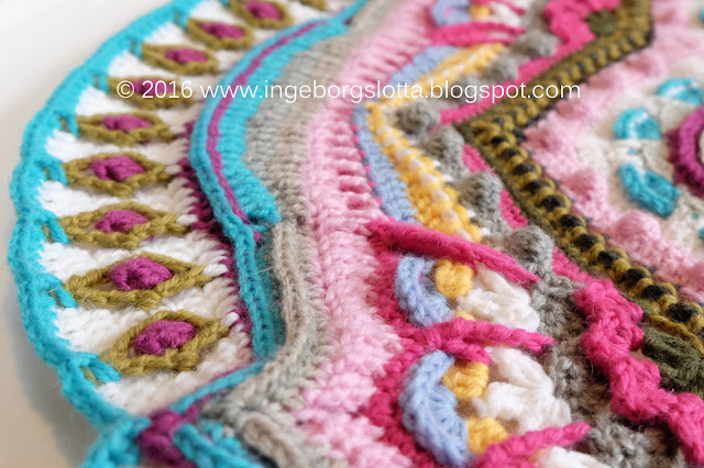 Mandala madness CAL 2016 part 10 crochet