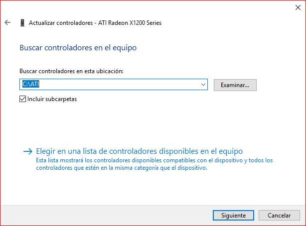 Ati Radeon X1200 Series Driver Download Windows 10