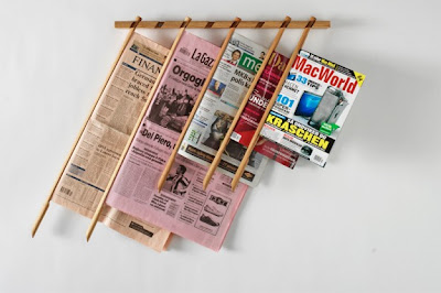 Cool Magazine Holders and Creative Magazine Racks (15) 5