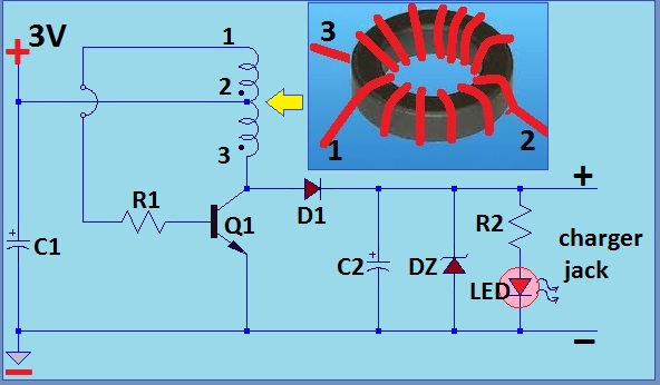 Simple Wind Battery Charger Circuit Diagram Electronic Circuit