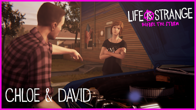 Life is Strange Before the Storm muestra la relación de Chloe y David
