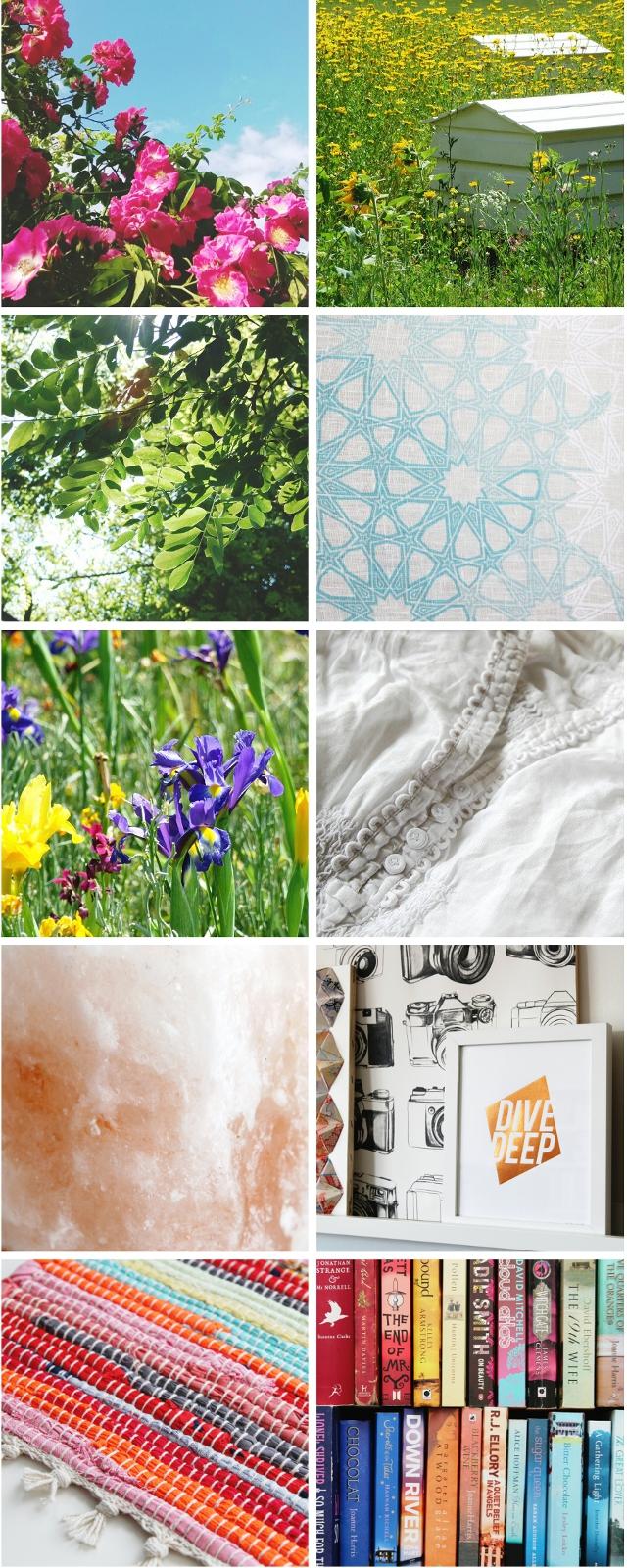 Poppytalk Summer Colours Instagram Challenge