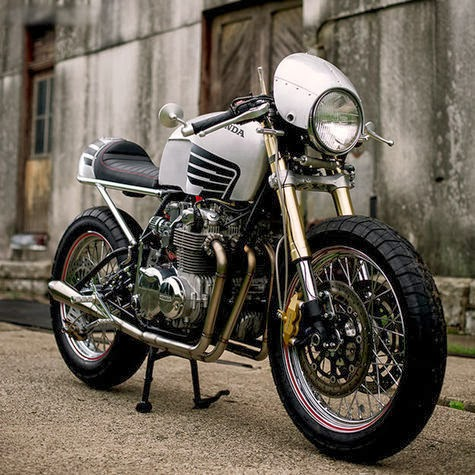 HONDA CB550 CAFE RACER BLACKWING