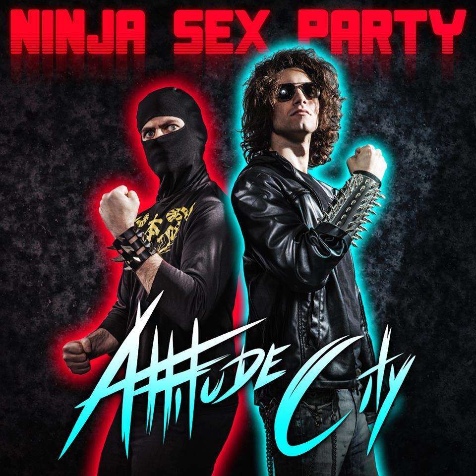 (怒りの以下略): ニンジャとセックスのパーティー! アメリカのコメディポップデュオ ― NINJA SEX PARTY