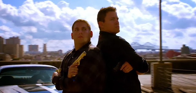 Jonah Hill şi Channing Tatum în comedia 22 Jump Street