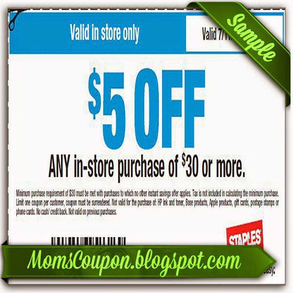 staples online coupon codes june 2014