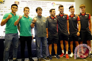 Timnas U-19 Dikalahkan Espanyol 2-4