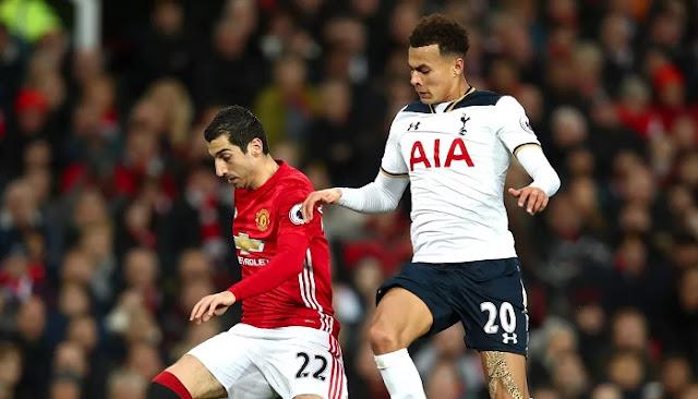 Tottenham Hotspur vs Manchester United en vivo