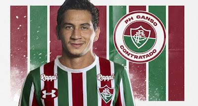 Fluminense anuncia contratação de Paulo Henrique Ganso