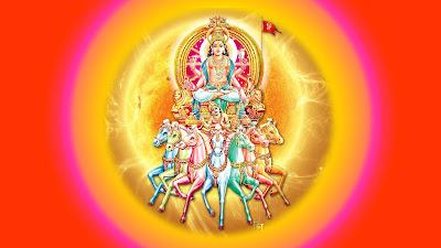 Shree Surya Dev श्री सूर्यमण्डलाष्टकम् Surya MandalaAshtakam