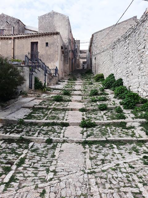 Erice, średniowieczne miasto