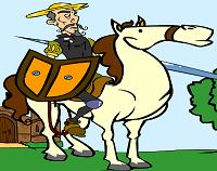 Colorea al Quijote