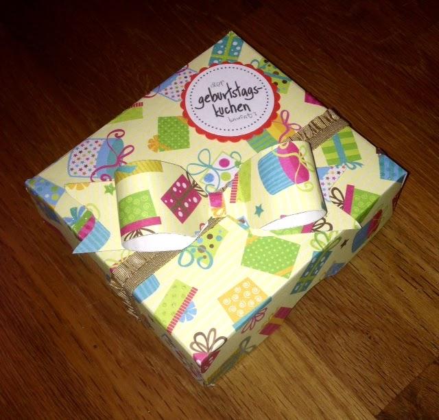 Schnelles Geburtstagsgeschenk