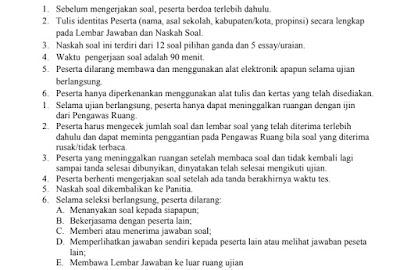 Download Latihan Soal Dan Kunci Jawaban KSM Tingat Provinsi Jenjang MI MTs MA Tahun 2018