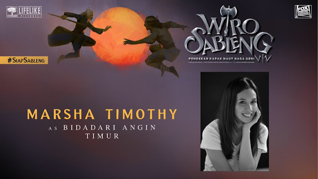 Marsha Timothy sebagai Bidadari Angin Timur/ Sumber foto @LifeLikePictrs