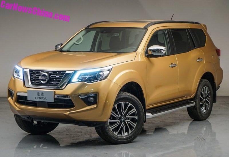 Diario Automotor: Nissan Terra Se Presenta En China En