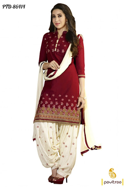 Bollywood actresses punjabi patiala salwar suits online with discount offer price at pavitraa