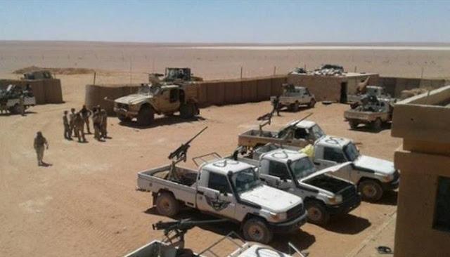 تدريبات خاصة و600 دولار راتب المسلح شهريا.حملة تجنيد أمريكية في مخيم الركبان