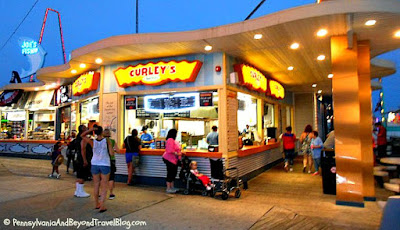 Curley's Fries in Wildwood New Jersey