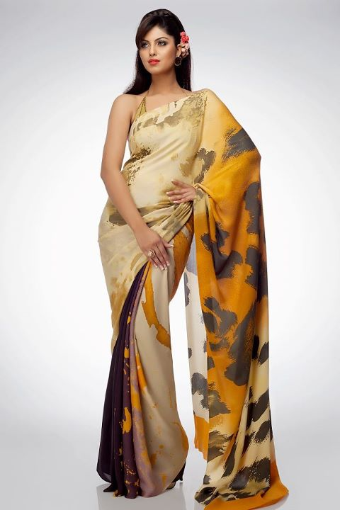 Latest Saree Collection 2012 Satya Paul All The Latest