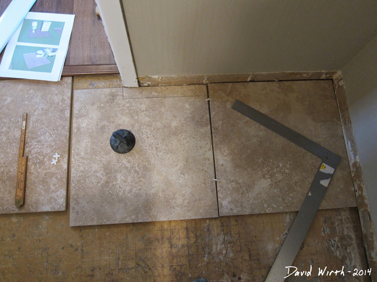 dry fit tile, spacers, home depot, lowe's, plans