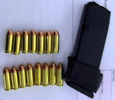 The ammo pictured here was discovered in a carry-on bag at MDW.
