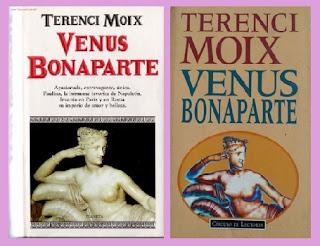 portadas de la novela histórica Venus Bonaparte, de Terenci Moix