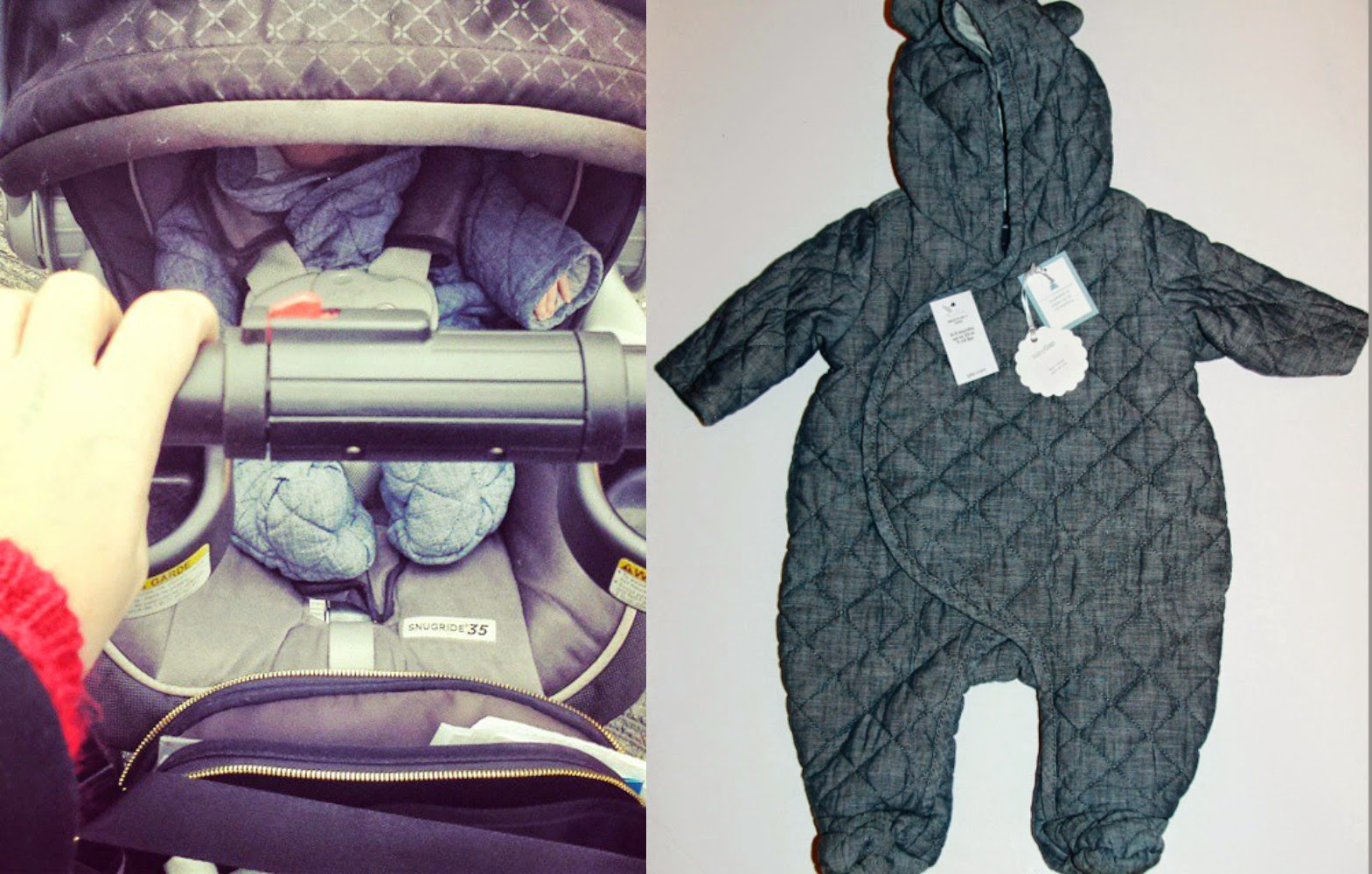 GAP Baby Quilted Bear Suit Review