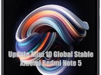 Cara Update Xiaomi Redmi Note 5 Pro Ke Miui 10 Global Stable Rom