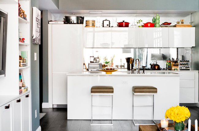 Tips deco 11 ideas para cocinas peque as tr s studio for Linea tres cocinas
