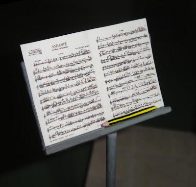 Maqueta personalizada profesora de música
