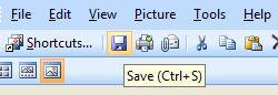 cara mengecilkan ukuran gambar - save