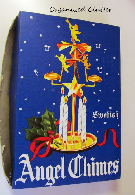 Swedish Angel Chimes www.organizedclutterqueen.blogspot.com